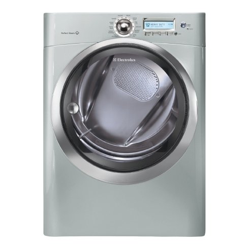electrolux 8 cubic feet wave touch perfect steam dryer in silver sands
