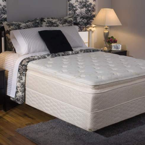 serta grandis low-profile mattress set